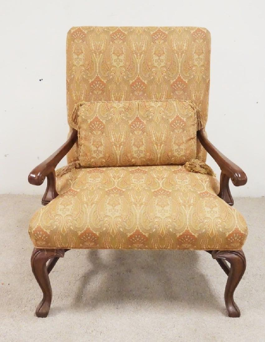 UPHOLSTERED ARMCHAIR BY SHERRILL