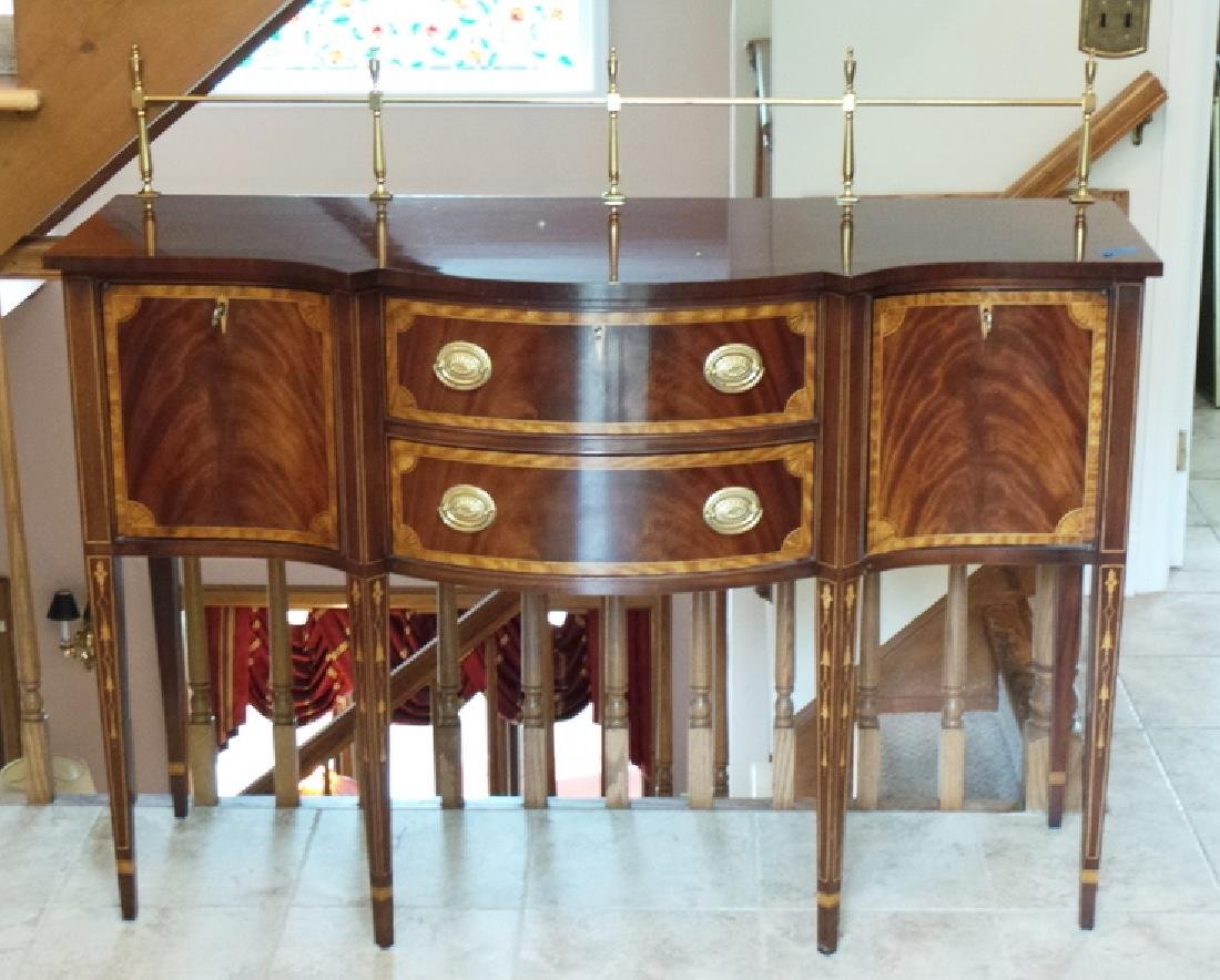 COUNCILL INLAID SIDEBOARD