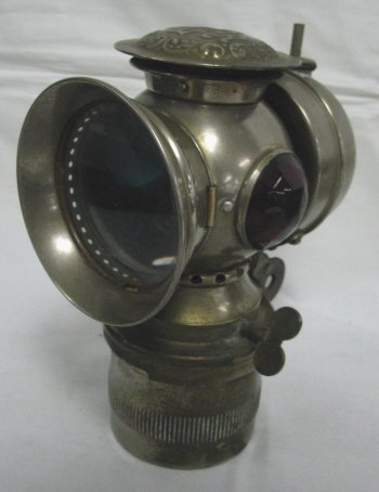 1001: BADGER *SOLAR* BICYCLE LIGHT, 1899