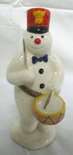 1008: ROYAL DOULTON DRUMMER SNOWMAN