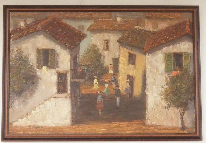 H. POZELL IMPRESSIONIST PAINTING