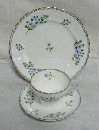 2: SHELLEY PLATE, CUP & SAUCER