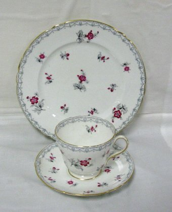 4: SHELLEY *CHARM* PLATE, CUP & SAUCER