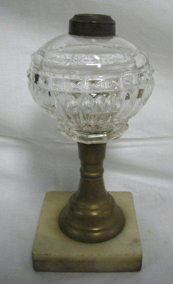 17: PATTERNED KEROSENE LAMP