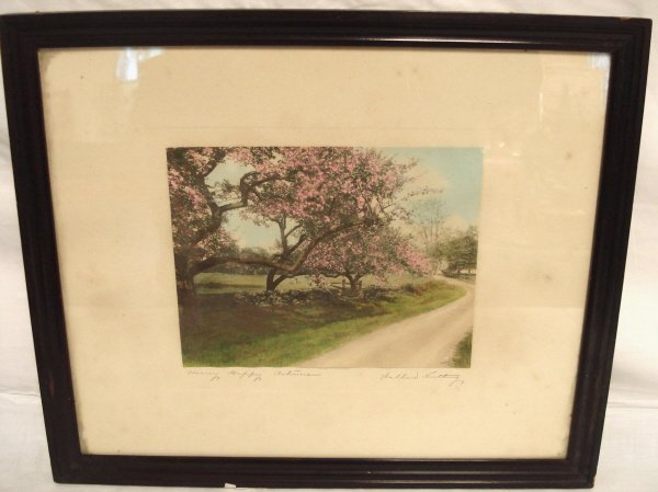 2002: WALLACE NUTTING FRAMED PRINT