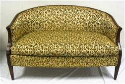 30 UPHOLSTERED LOVE SEAT HICKORY CHAIR CO 54 IN W