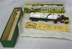 349: FIRST HESS TRUCK W/BOX, 1964; MARX; HAS ORIGINAL P