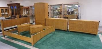 ETHAN ALLEN 6 PC MID CENTURY MODERN STYLE BEDROOM SET