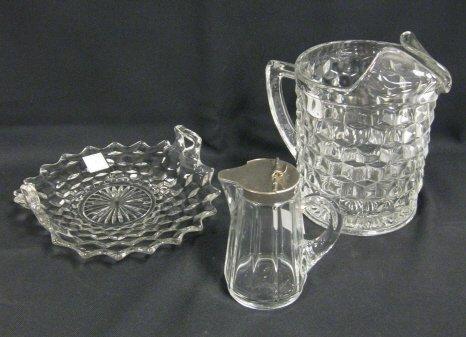 3: GLASS LOT; HEISEY & FOSTORIA AMERICAN; FOSTORIA AMER