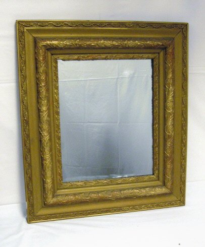 12: MIRROR IN GILT VICTORIAN FRAME; OVERALL DIMENSIONS