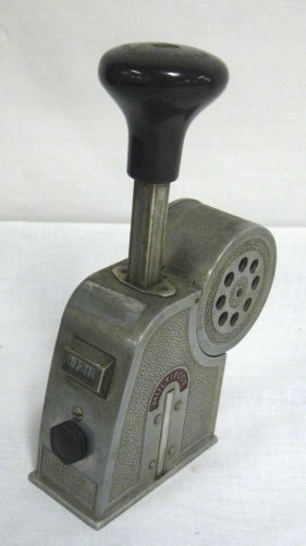 22: 1922 *MULTIPOST* STAMP CANCELLING DEVICE; HAS A COU