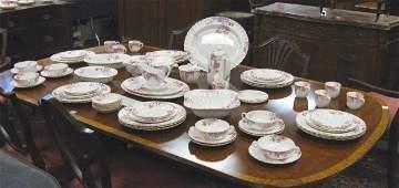 275: COPELAND SPODE CHELSEA GARDEN DINNERWARE SET, 121