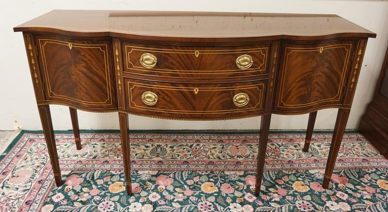 STICKLEY FEDERAL STYLE INLAID SIDEBOARD