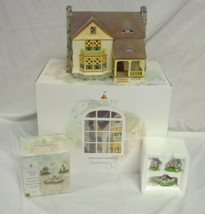 3003: DEPT 56; SEASONS BAY *INGLE NOOK COTTAGE* & RELAX