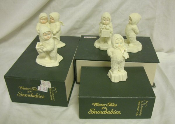 3008: DEPT 56; 3 SNOWBABIES *TWINKLE LITTLE STAR*, BEST