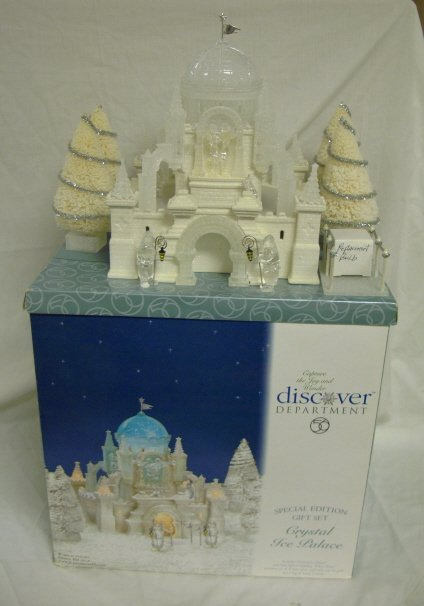 3009: DEPT 56; ICE PALACE SPECIAL EDITION GIFT SET
