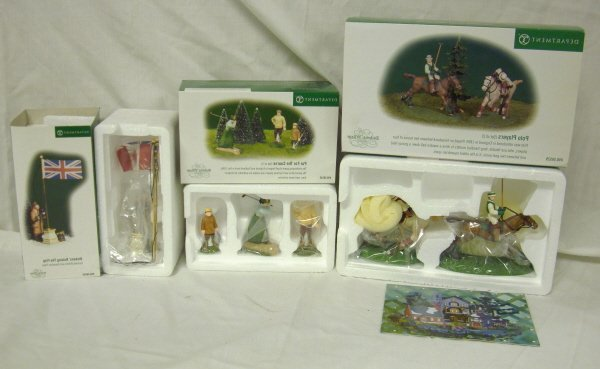 3013: DEPT 56; 3 DICKENS ACCESSORIES; POLO PLAYER, PAR