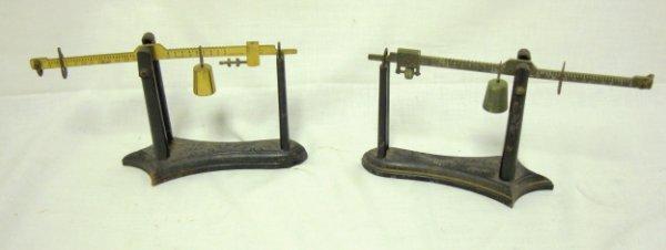 2015: PR OF 1878 FAIRBANKS SMALL SCALES; CAST IRON & BR