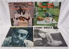 LOT OF 4 LENNY BRUCE RECORDS