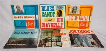 LOT OF 6 BLUES ALBUMS