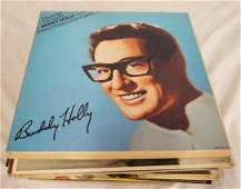 LOT OF 26 BUDDY HOLLY ALBUMS