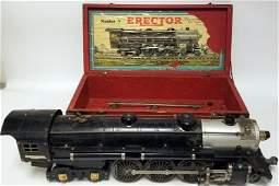 ANTIQUE ERECTOR TRAIN LOCOMOTIVE HUDSON NO. A