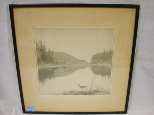 1: ORIGINAL ETCHING, ARTIST PROOF BY KERREBY; *ON AGAWA