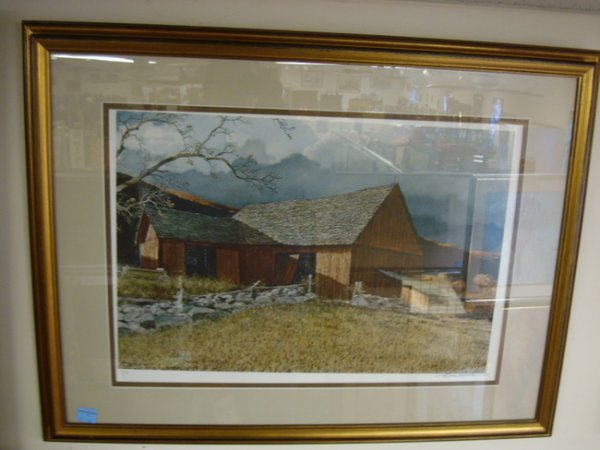 19: LITHO BY ERIC SLOANE; FARM LANDSCAPE, 134/490; 24 1
