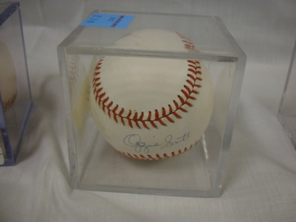 3012: SIGNED BASEBALL; *OZZIE SMITH*