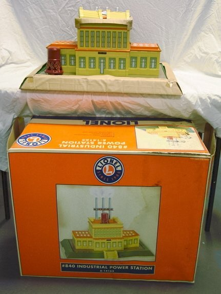 20: LIONEL #840 INDUSTRIAL POWER STATION 6-14163 W/BOX