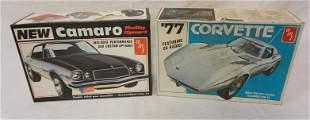 2 AMT MODEL CAR KITS