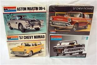 4 MONOGRAM CAR KITS
