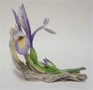 BOEHM BONE PORCELAIN FLOWER FIGURE