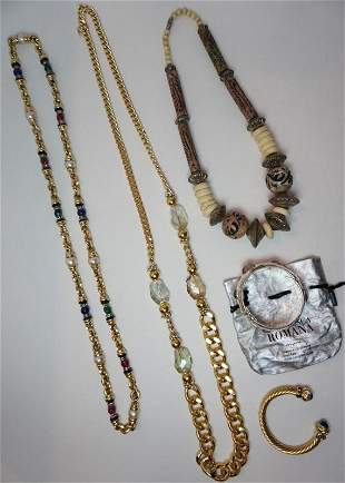 DESIGNER COSTUME JEWELRY LOT