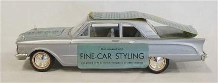 PROMOTIONAL 1961 MERCURY COMET MODEL CAR