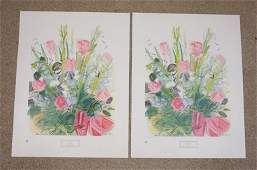 LOT OF 2 RAOUL DUFY ART POSTERS BY NEW YORK GRAPHIC