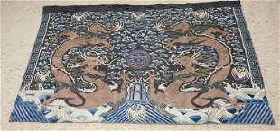 OUTSTANDING HAND SEWN ASIAN TAPESTRY