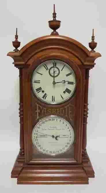 SETH THOMAS *FASHION* CALENDAR CLOCK 1879
