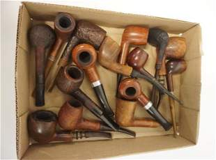 GROUP OF 15 PIPES