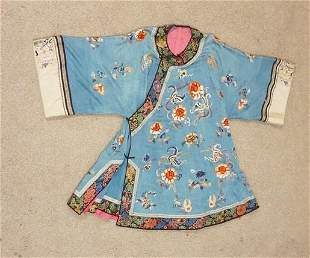 VINTAGE HAND SEWN ASIAN ROBE