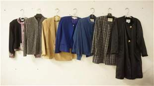 LOT OF 7 WOMENS JACKETS