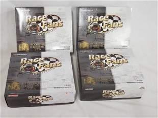 4 ACTION RACE FANS NASCAR MODEL CARS *TWIN PACKS*
