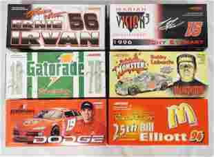 6 ACTION RACING COLLECTABLES NASCAR MODEL CARS