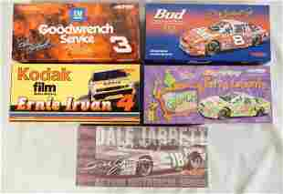 5 ACTION RACING COLLECTABLES NASCAR MODEL CARS