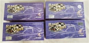 4 ACTION RACE FANS NASCAR MODEL CARS