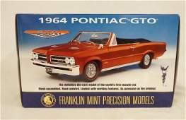 FRANKLIN MINT PRECISION MODEL; 1964 PONTIAC GTO