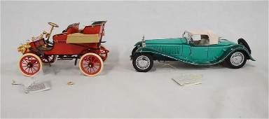 2 FRANKLIN MINT PRECISION MODEL CARS