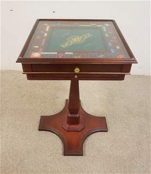MONOPOLY COLLECTORS EDITION GAME TABLE
