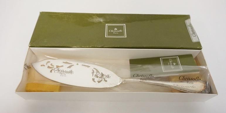 CHRISTOFLE PARIS OLD STYLE FISH SERVING KNIFE