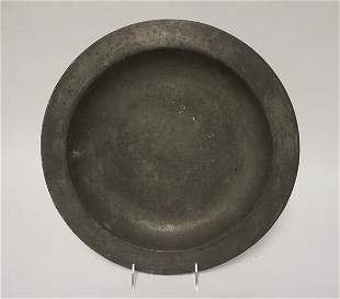 ANITIQUE PEWTER CHARGER